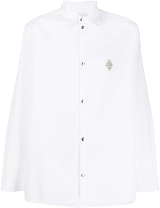 A-Cold-Wall* Long Sleeved Cotton Shirt