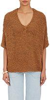 Ulla Johnson Women's Sidra Crop Sweater-BROWN