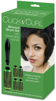 """Click N Curl 1"""" Extra Small Blowout Brush Set"""