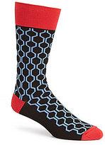 Johnston & Murphy Men s Honeycomb Socks