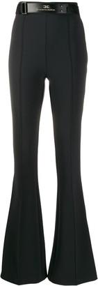 Elisabetta Franchi Welt Detail High-Waisted Trousers