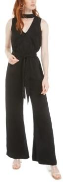Bar III Choker Jumpsuit, Created for Macy's