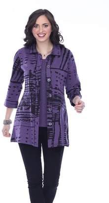 Parsley & Sage Button-Up Long Shirt