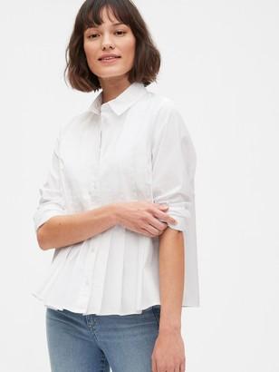 Gap Pleated Shirt