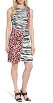 BOSS Women's Diseba Animal Print Sheath Dress