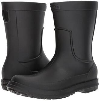 Crocs AllCast Rain Boot (Black/Black) Men's Boots