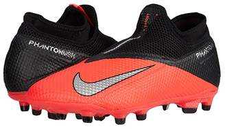 Nike Phantom VSN 2 Academy DF FG/MG (Laser Crimson/Metallic Silver/Black) Soccer Shoes