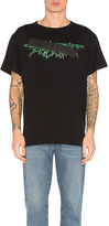 Off-White Rock Mirror Tee in Black