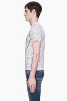 Comme des Garcons White Speech Bubble Print T-Shirt