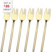 Mepra 6Pc Cake Fork Set