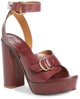 Chloé Women's Ankle Strap Platform Sandal
