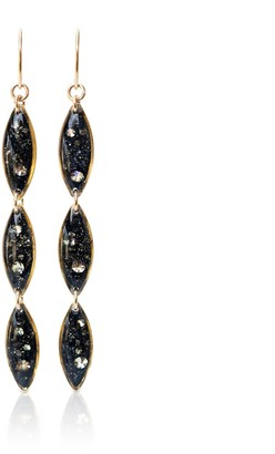 Kate Koel Dangling Galaxy Earrings