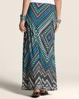 Chico's Macie Print Maxi Skirt