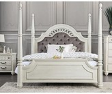 Aubrie Upholstered Four Poster Bed Rosdorf Park Size: California King