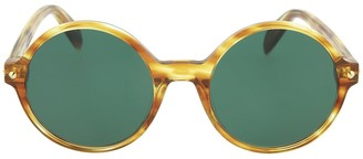 Alexander McQueen Core 54mm Round Sunglasses