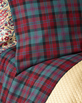 Ralph Lauren Home Queen Bohemian Muse Ardmore Plaid Flat Sheet