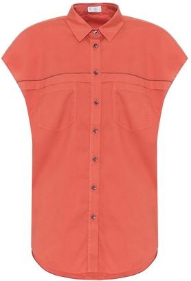 Brunello Cucinelli Exclusive to Mytheresa Cotton shirt