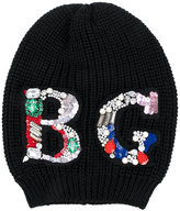 Blugirl embellished beanie - women - Wool - One Size