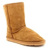 "Lamo 9"" Boot Women Round Toe Suede Tan Winter Boot."