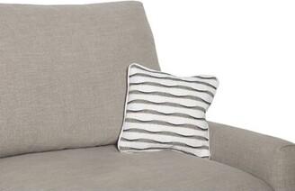 """Fairfield Chair Striped Throw Pillow Size: 14"""" x 14"""""""