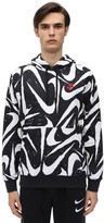 Nike Nsw Club All Over Sweatshirt Hoodie