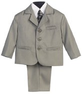 Lito 5 Piece Suit with Shirt, Vest, and Tie
