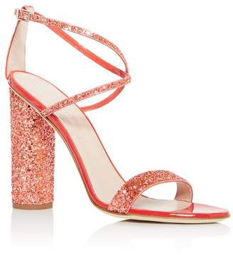 Giuseppe Zanotti Women's Svamp Glitter Crisscross High-Heel Sandals