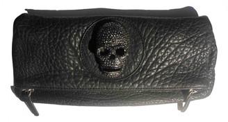 Thomas Wylde Black Leather Clutch bags