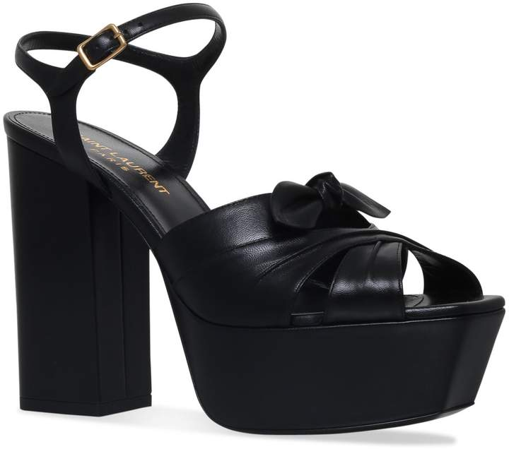 3c0c704c56 Saint Laurent Block Heel Sandals For Women - ShopStyle Australia