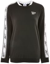 Reebok Vector tape crew sweatshirt