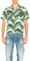 Levi's Spread Collar Shirt in Green. - size L (also in )