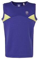 Wimbledon Blue Performance Vest