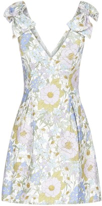 Zimmermann Floral Print Bow Detail Dress
