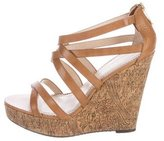 Jean-Michel Cazabat Leather Willow Wedges