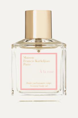 Francis Kurkdjian A La Rose Scented Body Oil - one size