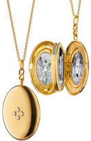 Monica Rich Kosann Premier Infinity 4-Photo Locket Necklace