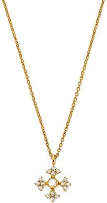 Sethi Couture Arya Diamond Cross Pendant Necklace