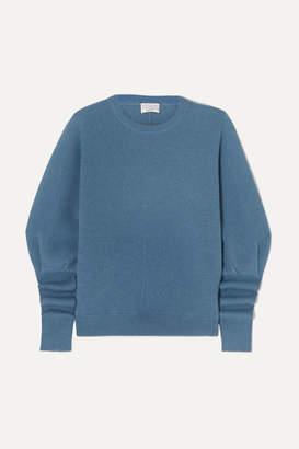 Brunello Cucinelli Ribbed Cashmere Sweater - Blue