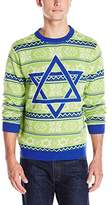 Alex Stevens Men's Hannukah Nights Ugly Holiday Sweater