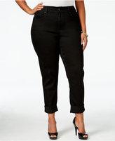 Melissa McCarthy Trendy Plus Size Odyssey Wash Girlfriend Jeans