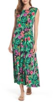 Chaus Women's Rainforest Floral Maxi Dress