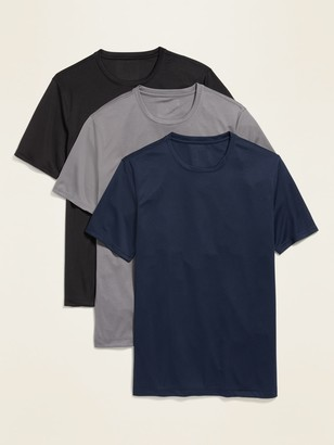 Old Navy Go-Dry Cool Core Odor-Control Mesh Tee 3-Pack for Men