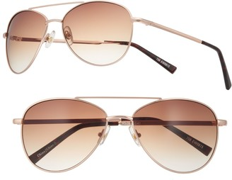 So Women's SO Gradient Aviator Sunglasses