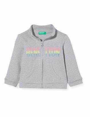 Benetton Baby Girls' Felpa Zip Cardigan