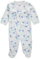 "Carter's Baby Girls' ""Butterfly Pairs"" Footed Coverall"