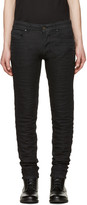 Diesel Black Gold Black Knitted Type-2628 Jeans