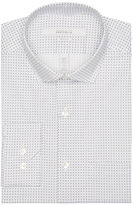 Perry Ellis Very Slim Broken Circle Print Dress Shirt