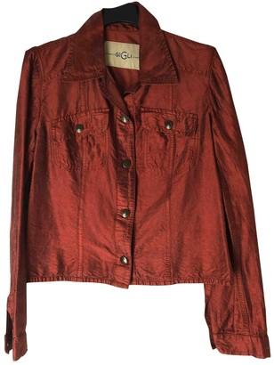 Romeo Gigli Red Silk Jacket for Women