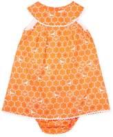 Elephantito Baby Dress W/bloomer