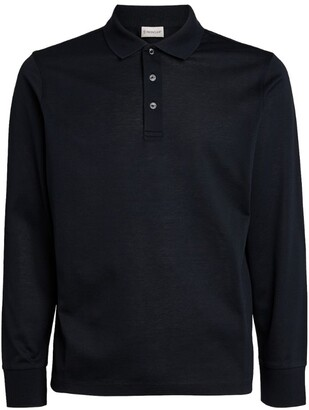 Moncler Long-Sleeved Polo Shirt
